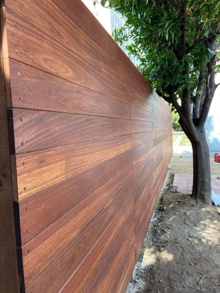 Wood Fence Company in Culver City