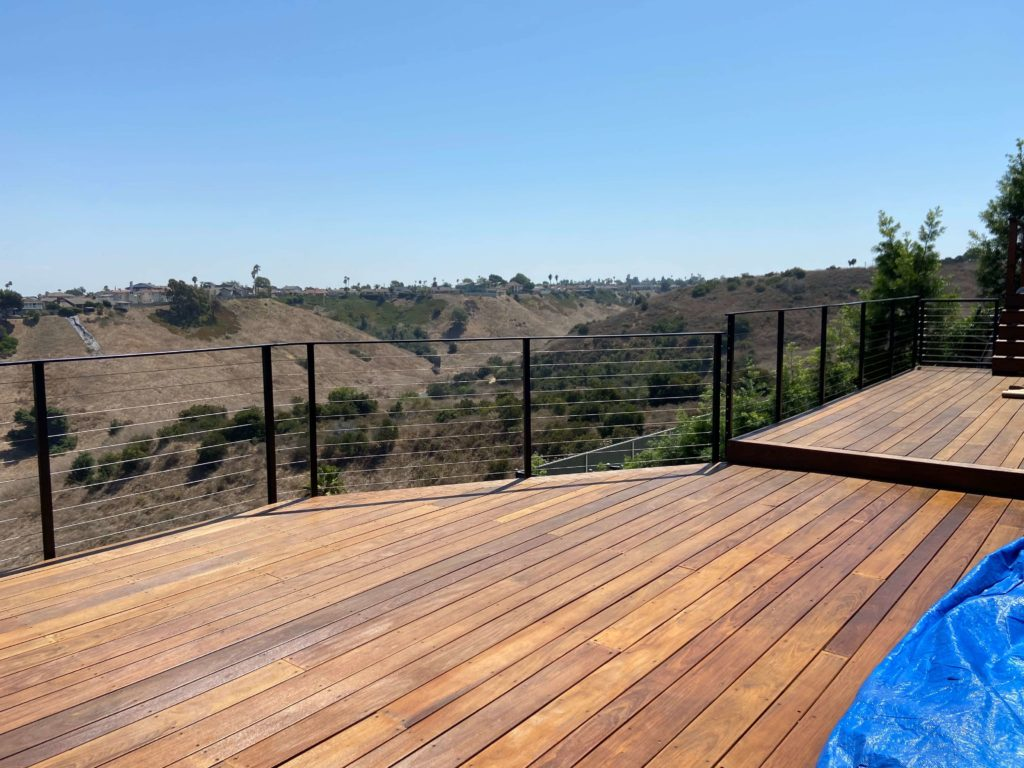 Cable Wire Railing in Los Angeles